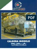 Calderas Myrggo Modelo WET-BACK