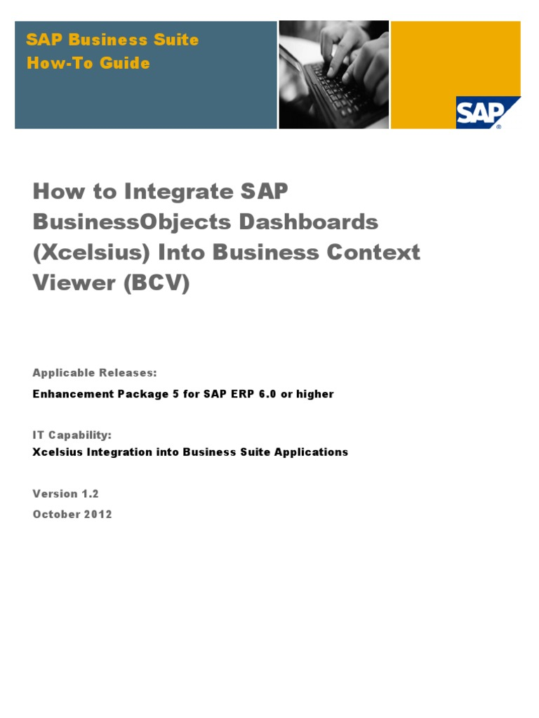 How to integrate sap businessobjects dashboards xcelsius into how to integrate sap businessobjects dashboards xcelsius into business context viewer bcv ibm db2 ibm system i gumiabroncs Image collections