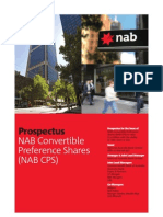 NAB CPS Replacement Prospectus