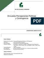Encuesta Corbiobío Marzo 2013
