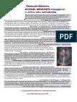 Financial Advisors (Brokers)