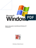 19496404 Windows XP Installation