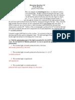 Intensity of Polarized RadiationDQ13C Solution