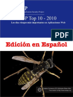 Owasp Top 10 - 2010 Final (Spanish)
