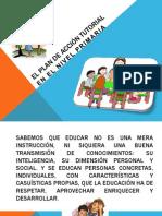 EL PLAN DE ACCIÓN TUTORIAL