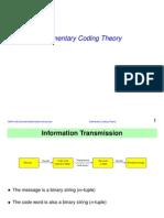 5.2 Coding Theory