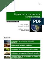 M. Chacon - El Papel de Los Bosques en El Cambio Climatico