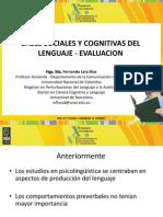 Base Cognitiva y Social Del Lenguaje - Evaluacion MA. FERNANDA LARA