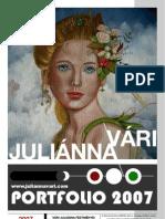 Vári Juliánna - Portfolio 2007