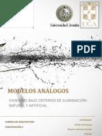 Modelo Analogo Iluminacion