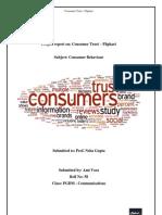 Consumer Trust - Flipkart