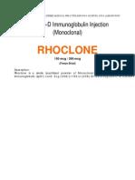 Rho Clone