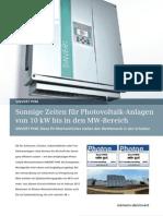 Inverter Siemens PVM_06.2012