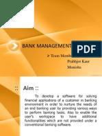 Bank Management System