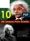10 Life Lessons From Eistein-presentation by Sompong Yusoontorn