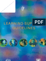 Learning Support Guidelines