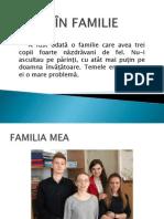 ÎN FAMILIE