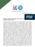 Documento Su Consulta Giovani - Giovine Italia - Martina Franca