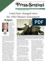 Dink Masters 3-13-13