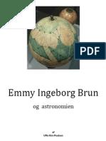 Emmy Ingeborg Brun og Astronomien
