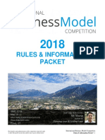 International Business Model Competition - Rules & Information Packet