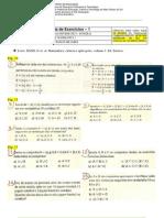 Mat1 - Lista1