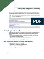 Configuring Neighbor Discovery