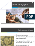 Antropocentrismo pedagógico