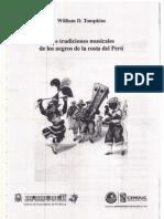 Las Tradiciones Musicales de Los Negros Del Peru, Intro+Apendice