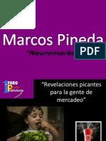 Presentación 1er Foro Picante Publicitario Marcos Pineda