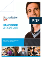 2012-13 Accreditation Uk Handbook