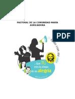 PASTORAL DE LA COMUNIDAD MARÍA AUXILIADORA