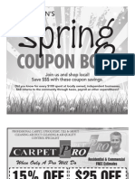 Coupon Book March 2013