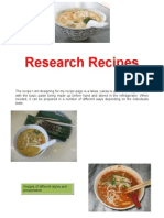 research recipes
