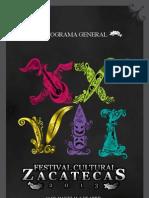 Programa General XXVII FCZ