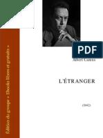 Albert Camus - l'etranger