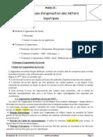 Techniques d'organisation des métiers logistiques