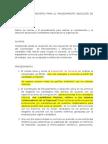 PROCEDIMIENTO SELECCIÓN DE PERSONAL