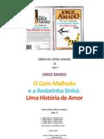 JORGE AMADO O gato malhado e a andorinha sinhá