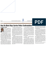How Do Black Boys Survive Police Confrontation?