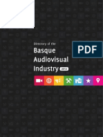 Basque Audiovisual Industry 2012