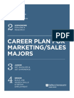 Career Plan for Marketing and Sales_2013