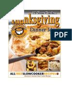 19 Slow Cooker Thanksgiving Dinner Ideas eCookbook