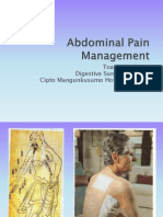 Abdominal Pain Management