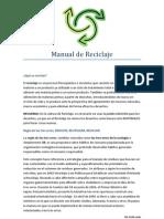 Manual de Reciclaje