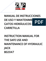 Manual de Gato Hidraulico