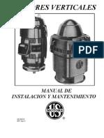 Manual de Instalacion y Mantenimiento Motores US MOTORS