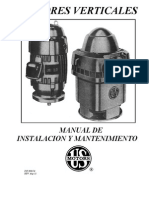 Manual de Instalacion y Mantenimiento Motores US MOTORS