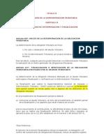 Codigo Tributario Facultad de Fiscalizacion