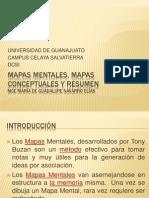 Clase 1 Mapas Mentales, Mapas Conceptuales y Resumen
